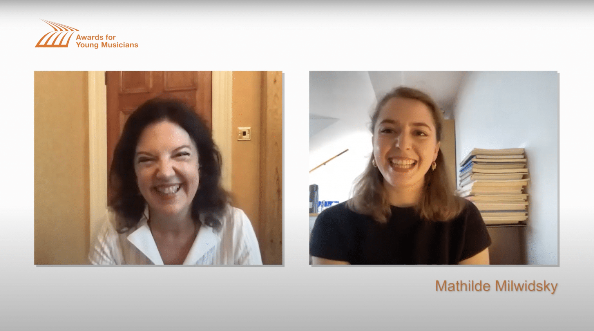 Violinists Tasmin Little and Mathilde Milwidsky in conversation